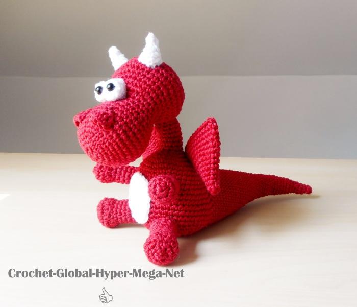 Baby Dragon pattern by Les Tuques De Stephanie | Tricot et crochet ... | 601x700